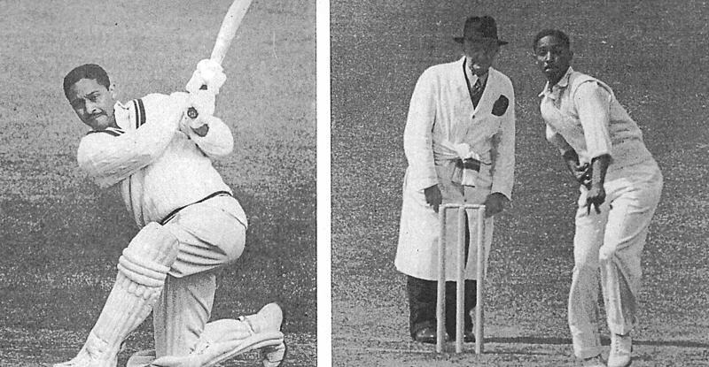 図3.バルバドス島出身で偉大なオールラウンダーとして知られるフランク・ウォレルは、ジャマイカに移住したのち黒人初の西インド諸島代表キャプテンとして歴史に名を残した。  Goodwin, Clayton, Caribbean Cricketers from the Pioneers to packer, Harrap, 1980, pp.68-69