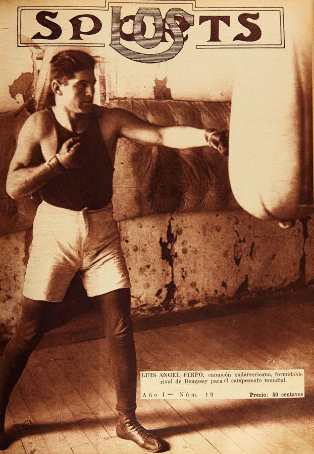 図4.フィルポ  Los Sports, nº 19 (20 de julio de 1923), front page