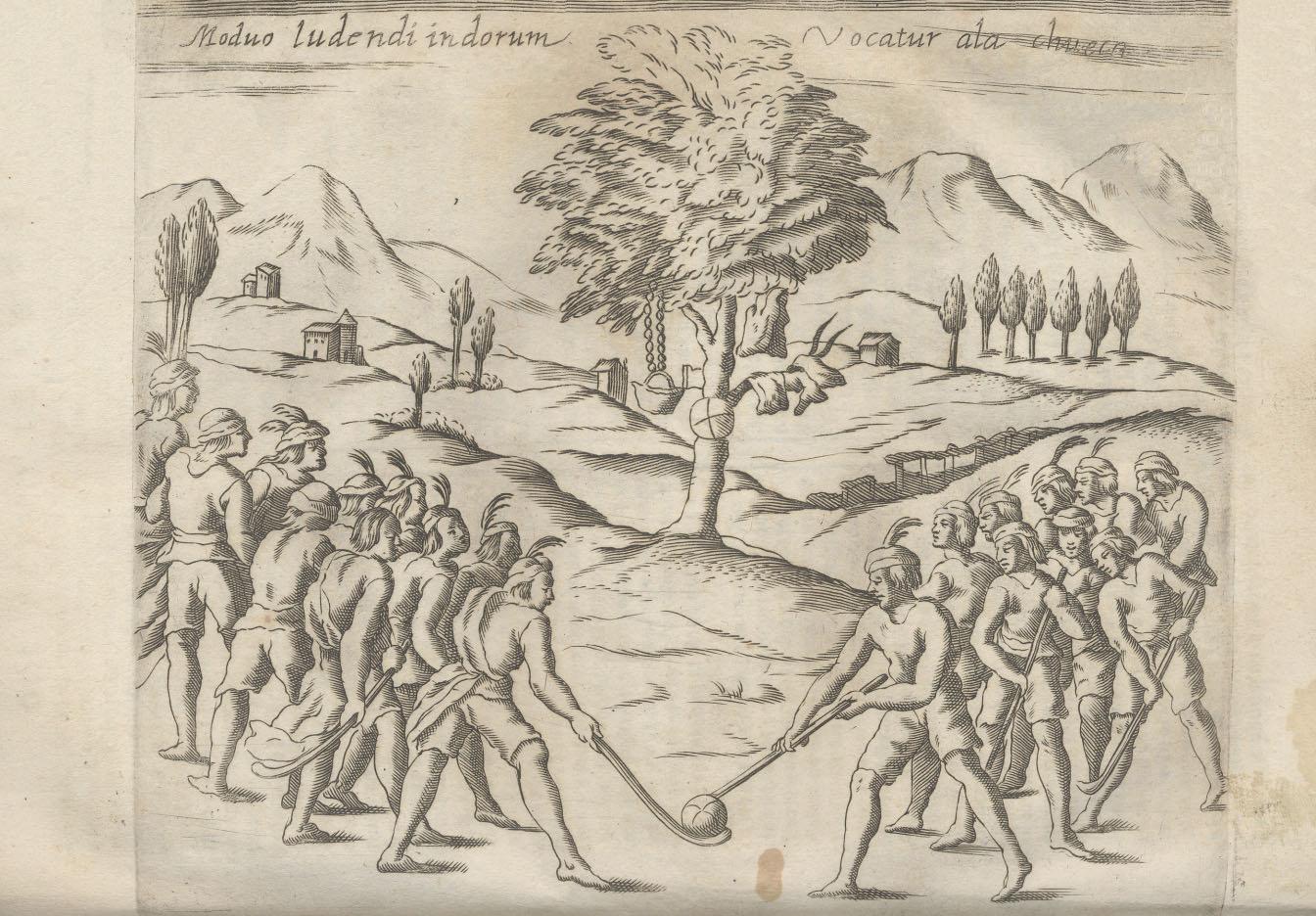 図1.パリン Alonso de Ovalle, Histórica relación del Reyno de Chile (Roma: Francisco Caballo, 1646), p.92