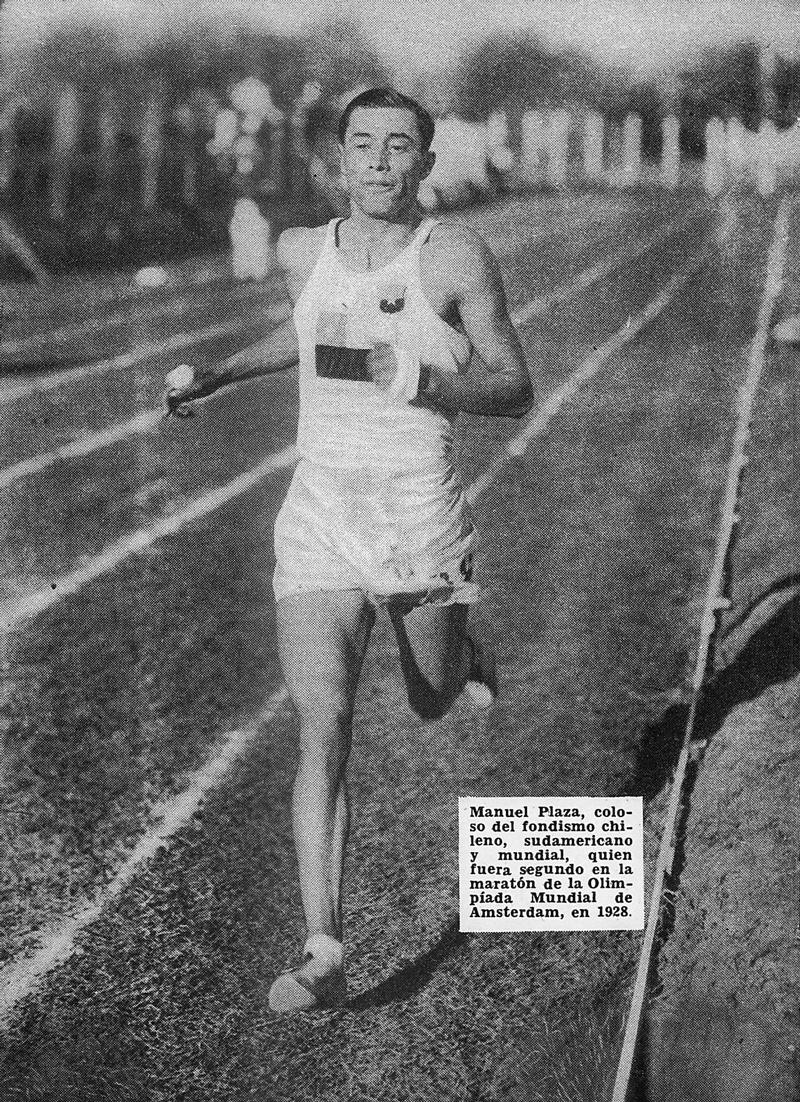 図5.プラサ Hugo Sainz Torres, Breve historia del deporte (Santiago de Chile: Braden Copper Co., 1961), p.40