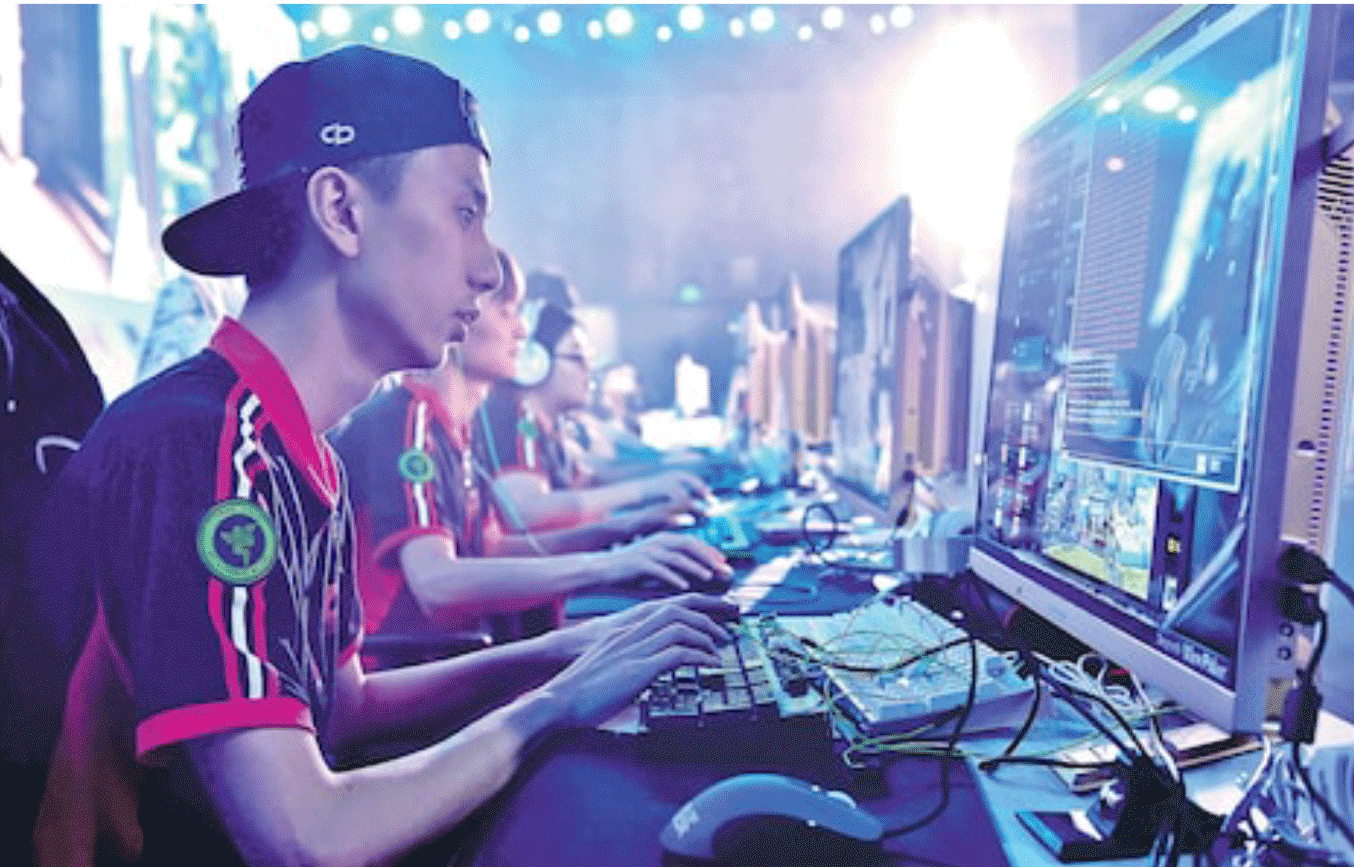 図17.中国で行なわれたeスポーツの国際トーナメント The Telegraph, 19th June 2017 (https://www.telegraph.co.uk/news/world/china-watch/sport/esports-next-frontier-in-video-gaming/)