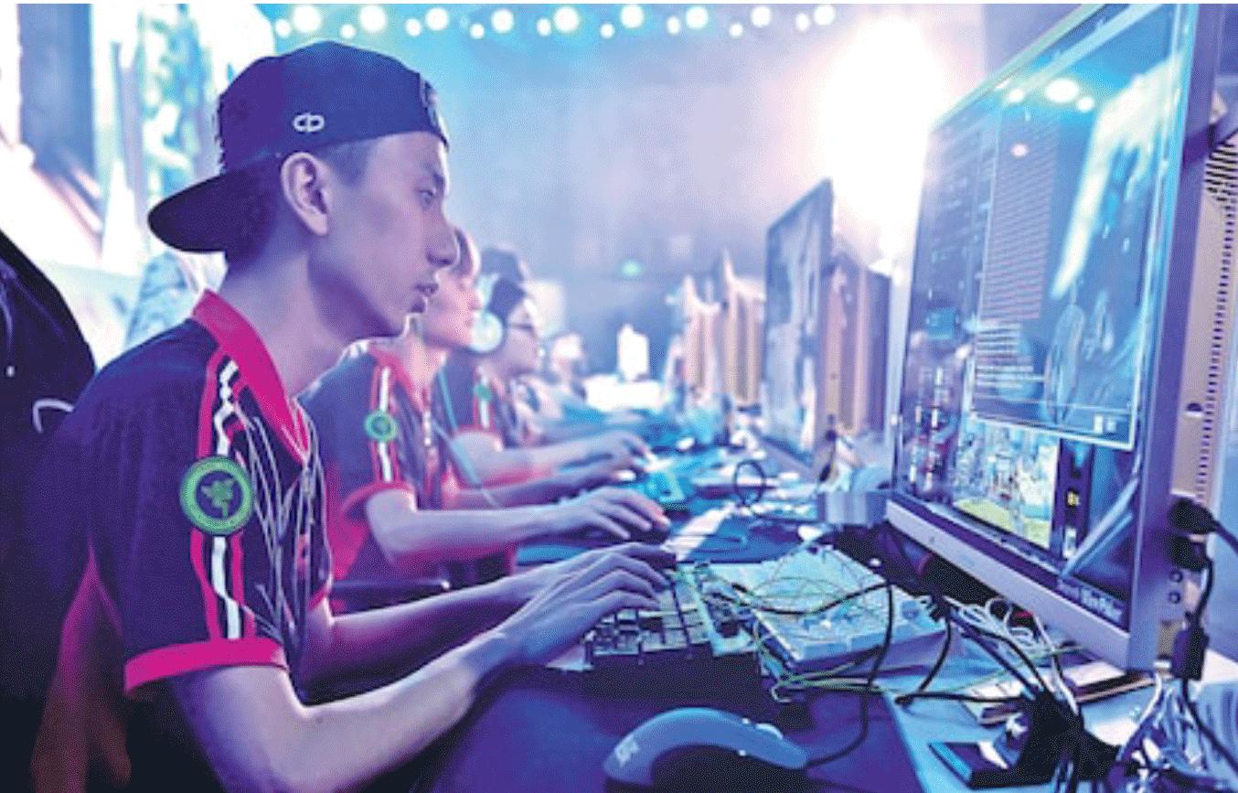 図17.中国で行なわれたeスポーツの国際トーナメント The Telegraph, 19th June 2017 (https://www.telegraph.co.uk/news/world/china-watch/sport/esports-next-frontier-in-video-gaming/)