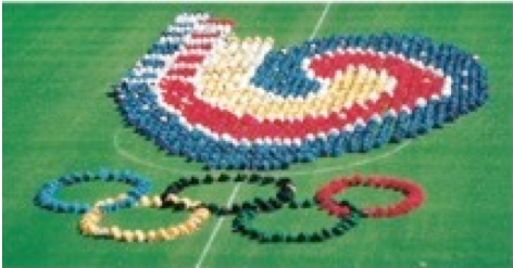 図7.ソウルオリンピック開会式